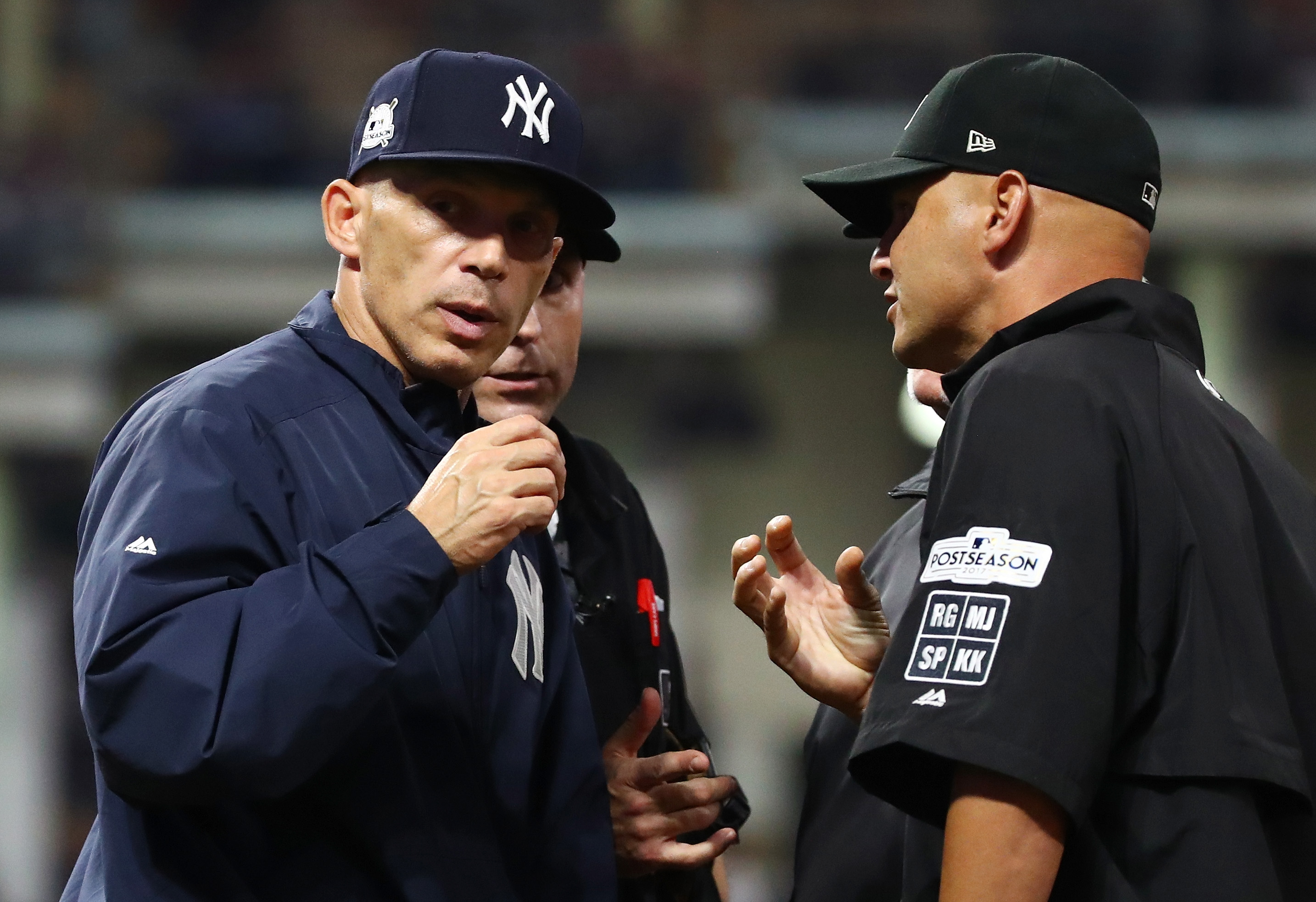 Social media explodes over Joe Girardi's decision not to challenge
