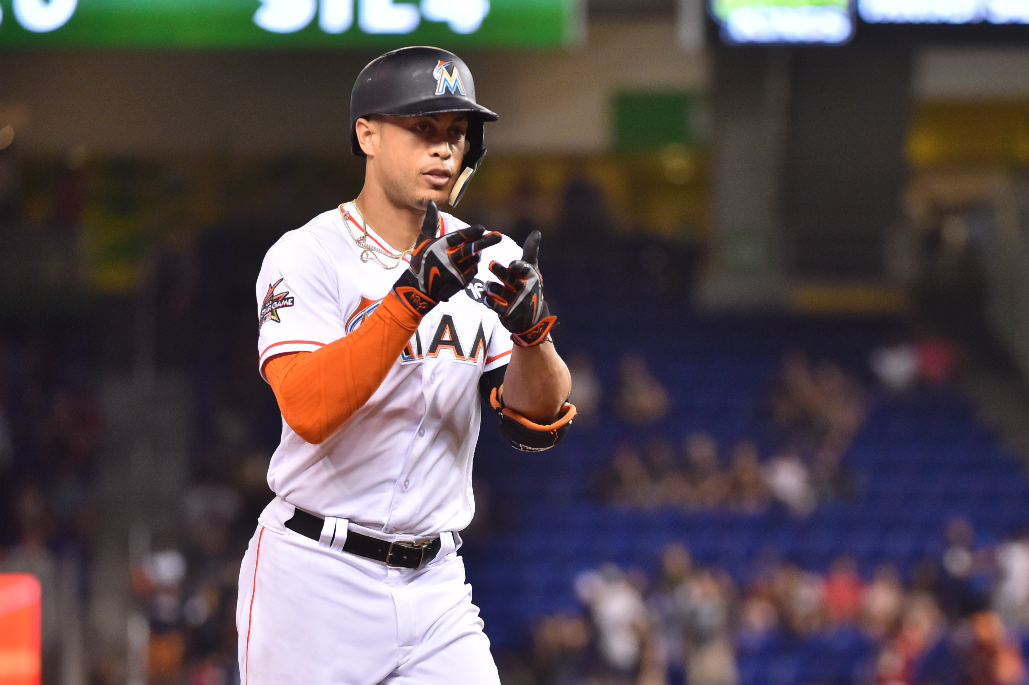 NL MVP Stanton now slugging for the Yankees